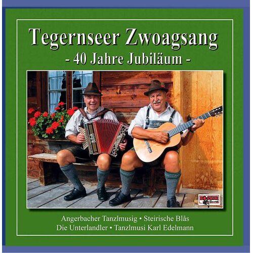 Tegernseer Zwoagsang - 40 Jahre Jubiläum - Tegernseer Zwoagsang - Preis vom 22.06.2021 04:48:15 h