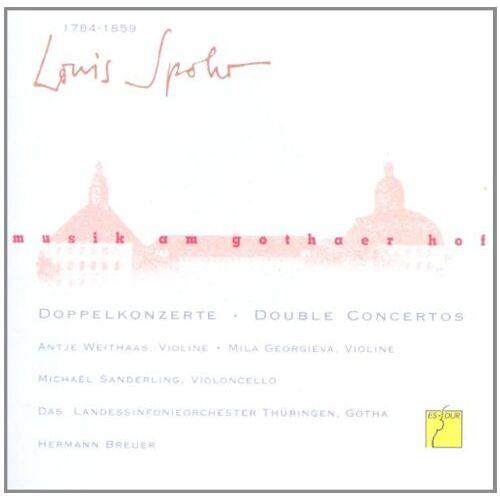 Hermann Breuer - Musik am Gothaer Hof - Louis Spohr Doppelkonzerte - Preis vom 11.06.2021 04:46:58 h