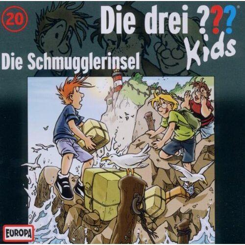 Die Drei ??? Kids - 020/Die Schmugglerinsel - Preis vom 19.06.2021 04:48:54 h