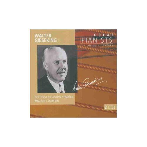 Walter Gieseking - Die großen Pianisten des 20. Jahrhunderts - Walter Gieseking - Preis vom 14.06.2021 04:47:09 h