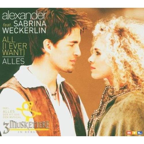 Sabrina Alexander Ft.Weckerlin - All (I Ever Want)/Alles-Ltd - Preis vom 19.06.2021 04:48:54 h