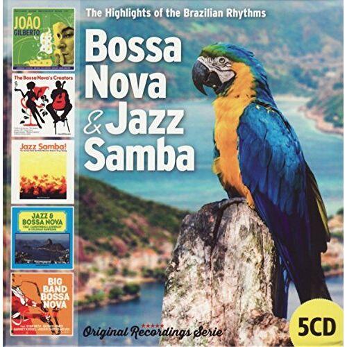 Vari-Bossa Nova & Jazz Samba - Bossa Nova & Jazz Samba - Preis vom 12.06.2021 04:48:00 h