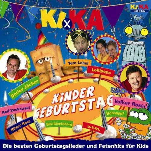 Various - Ki.Ka Kindergeburtstag - Preis vom 17.05.2021 04:44:08 h