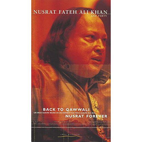 Khan, Nusrat Fateh Ali - Back to Qawwali/Nusrat Forever - Preis vom 11.06.2021 04:46:58 h