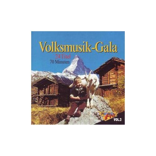 Volksmusik-Sampler - Volksmusik-Gala Vol. 2 - Preis vom 21.06.2021 04:48:19 h
