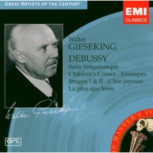 Walter Gieseking - Debussy - Preis vom 14.06.2021 04:47:09 h
