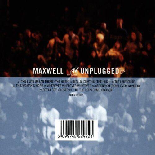 Maxwell - Maxwell Mtv Unplugged - Preis vom 17.06.2021 04:48:08 h