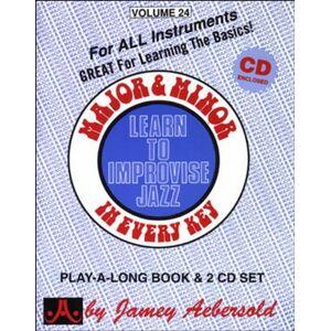 Jamey Aebersold Jazz Series - Major & Minor: Learn to Improvise Jazz in every key - Preis vom 05.03.2021 05:56:49 h