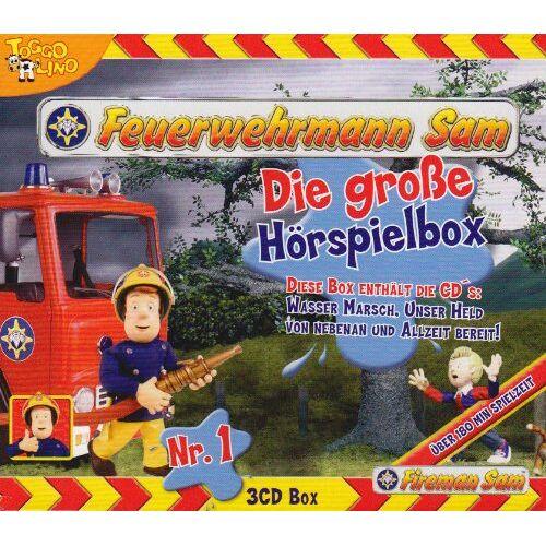 Feuerwehrmann Sam - Feuerwehrmann Sam Hörspielbox - Preis vom 17.04.2021 04:51:59 h