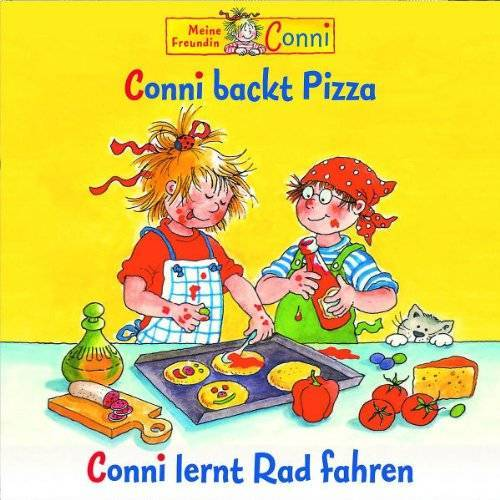 Conni 8 - Conni backt Pizza / Conni lernt Rad fahren - Preis vom 04.10.2020 04:46:22 h