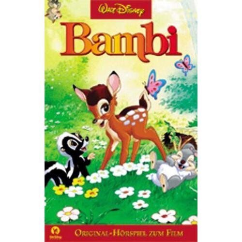 Disney Bambi [Musikkassette] [Musikkassette] - Preis vom 31.10.2020 05:52:16 h