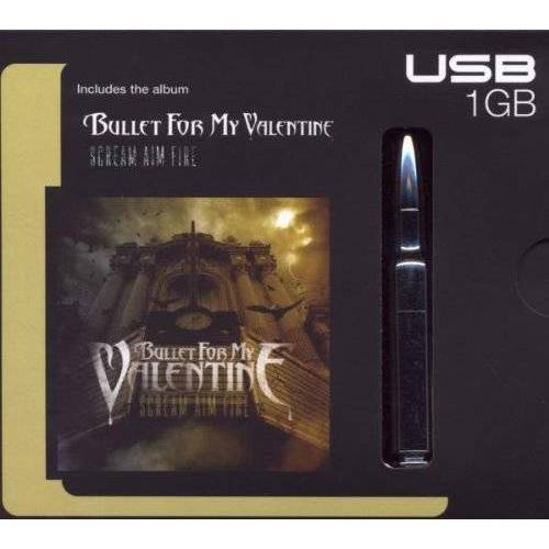 Bullet for My Valentine - Scream Aim Fire (USB-Stick) - Preis vom 18.04.2021 04:52:10 h