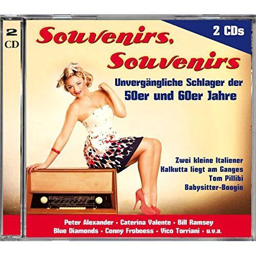 Various - Souvenirs Souvenirs (50er & 60er Jahre) - Preis vom 15.01.2021 06:07:28 h