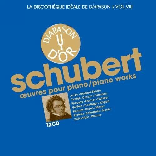 Various - Schubert Piano Works 12 CD - Preis vom 18.04.2021 04:52:10 h