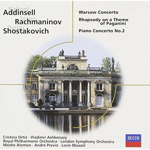 Rachmaninoff - Rhap Theme Paganini/Con Pno 2/ - Preis vom 18.04.2021 04:52:10 h