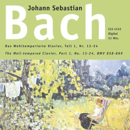 Bach, Johann Seb. - Wohltemperiertes Klavier 1, 2 - Preis vom 20.10.2020 04:55:35 h