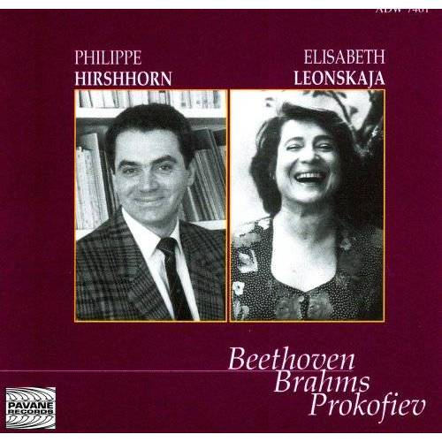 Hirshhorn - Sonatas for Violin and Piano - Preis vom 25.01.2021 05:57:21 h