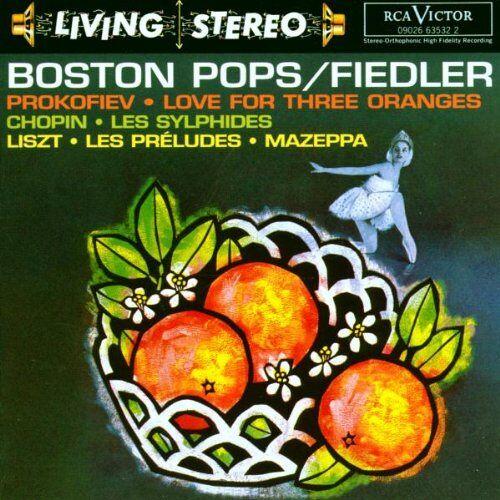 Arthur Fiedler - Living Stereo - Boston Pops / Fiedler (Aufnahmen 1960 / 1961) - Preis vom 28.02.2021 06:03:40 h