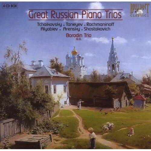 Borodin Trio - Borodin Trio: Great Russian Piano Trios - Preis vom 05.03.2021 05:56:49 h