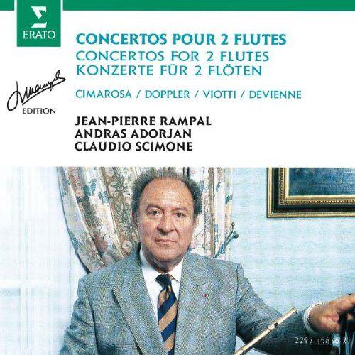 Rampal - Rampal-Edition (Konzerte für 2 Flöten) - Preis vom 05.09.2020 04:49:05 h