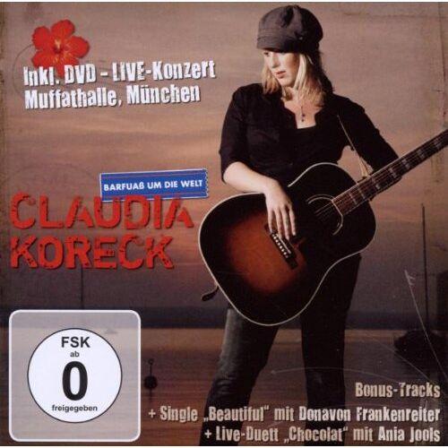 Claudia Koreck - Barfuass Um die Welt - Preis vom 22.01.2021 05:57:24 h