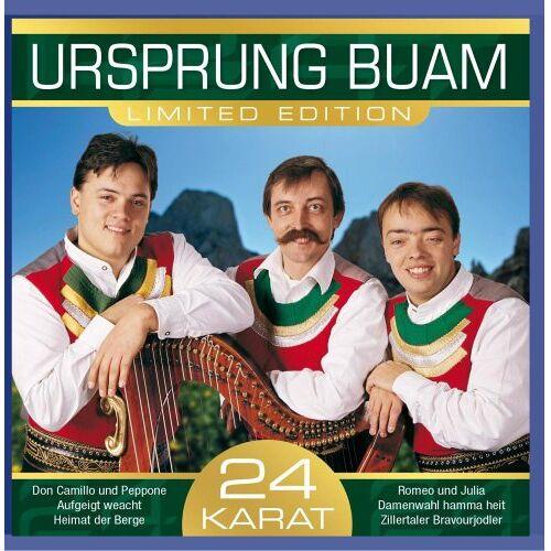 Ursprung Buam - 24 Karat - Preis vom 26.02.2021 06:01:53 h