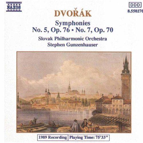Gunzenhauser - Dvorak: Sinfonien 5 und 7 Gunzenhauser - Preis vom 09.04.2021 04:50:04 h