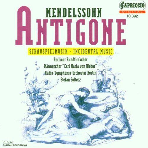 Soltesz - Antigone (Schauspielmusik) - Preis vom 03.05.2021 04:57:00 h