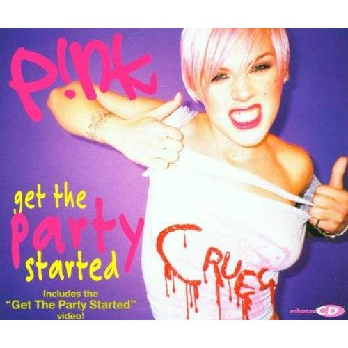 Pink - Get the Party Started - Preis vom 24.01.2021 06:07:55 h