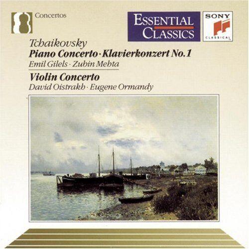 P.I. Tchaikovsky - Ct Pno 1/Ct Vln - Preis vom 20.10.2020 04:55:35 h