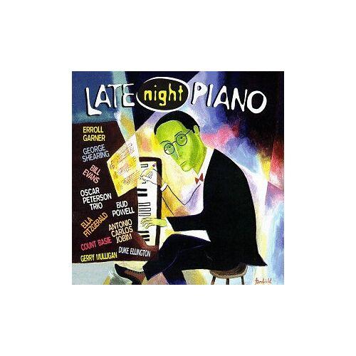 Various - Late Night Piano - Preis vom 01.03.2021 06:00:22 h