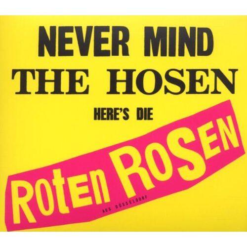 die Roten Rosen - Never Mind the Hosen-Here's Die Roten Rosen - Preis vom 20.10.2020 04:55:35 h
