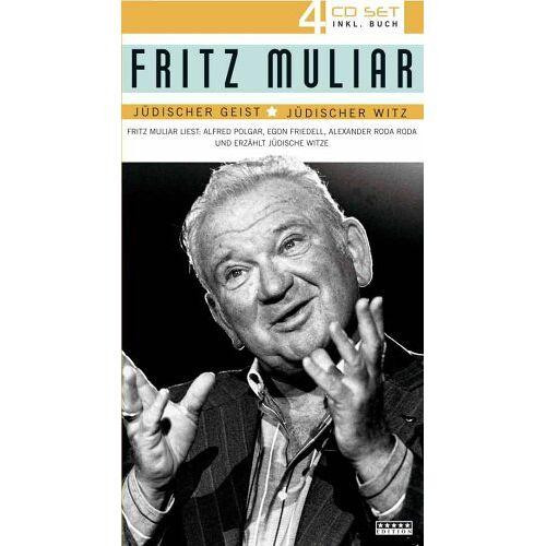 Fritz Muliar - Jüdischer Geist-Jüdischer Witz (Various) - Preis vom 06.09.2020 04:54:28 h