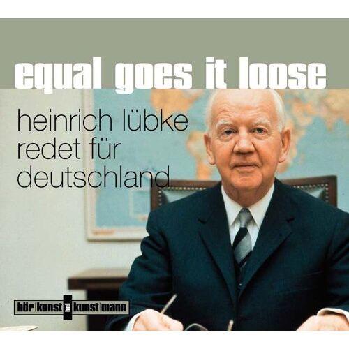 Heinrich Lübke - Equal goes it loose. CD - Preis vom 05.09.2020 04:49:05 h