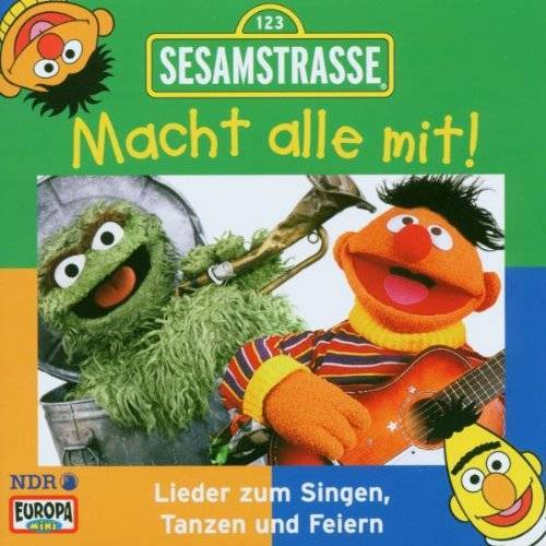 Sesamstrasse - Sesamstraße - Macht alle mit! - Preis vom 14.05.2021 04:51:20 h