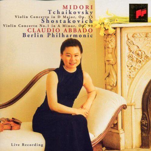 Midori - Violinkonzerte - Preis vom 22.01.2021 05:57:24 h