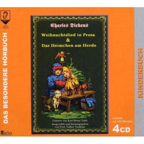Tafel, Karl Heinz - Weihnachtslied in Prosa/das Heimchen am Herde - Preis vom 21.04.2021 04:48:01 h