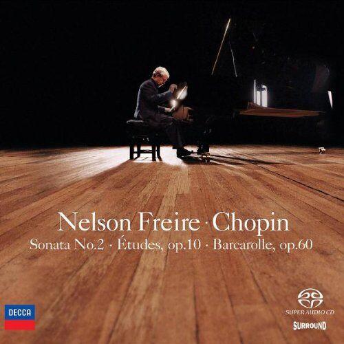 Nelson Freire - Klaviersonate 2/Etueden Op.10/Barcarolle Op.60 - Preis vom 12.04.2021 04:50:28 h
