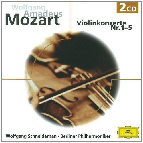 Wolfgang Schneiderhan - Violinkonzerte 1-5 (Ga) (Eloquence) - Preis vom 20.10.2020 04:55:35 h
