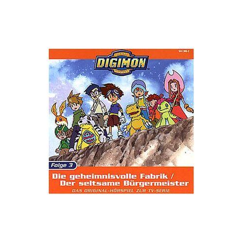 Digimon - Folge 3: Die geheimnisvolle Fabrik - Preis vom 05.05.2021 04:54:13 h