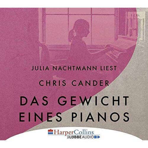 Chris Cander - Das Gewicht eines Pianos - Preis vom 26.02.2021 06:01:53 h