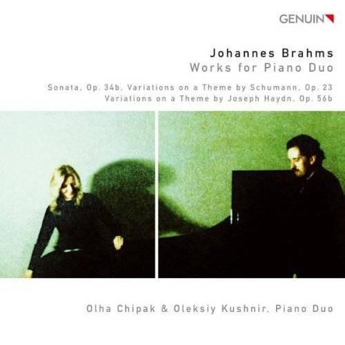 Olha Chipak - Brahms: Works for Piano Duo - Preis vom 21.10.2020 04:49:09 h