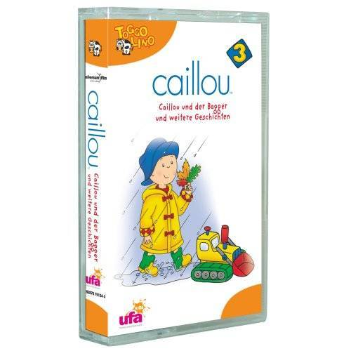 Caillou 3 - Caillou 3,Audio: Caillou und der Bagger und Weite [Musikkassette] - Preis vom 05.05.2021 04:54:13 h