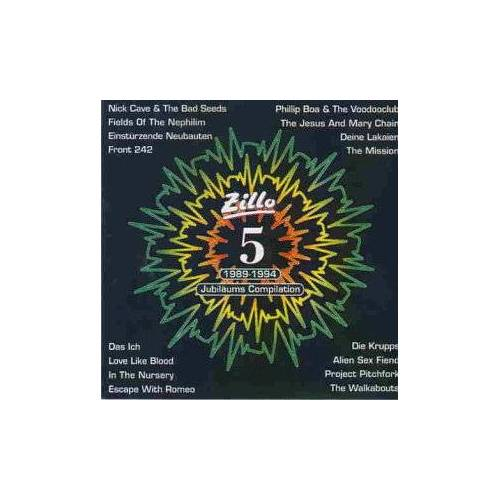 Various - 5 Years of Zillo. Jubiläums-Compilation (1989-1994) - Preis vom 06.03.2021 05:55:44 h