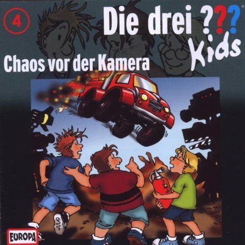 Die Drei ??? Kids - 004/Chaos Vor Der Kamera - Preis vom 18.04.2021 04:52:10 h