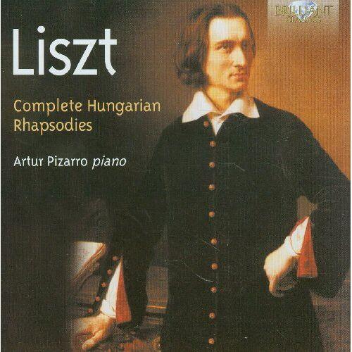 Artur Pizarro - Hungarian Rhapsodies - Preis vom 12.04.2021 04:50:28 h