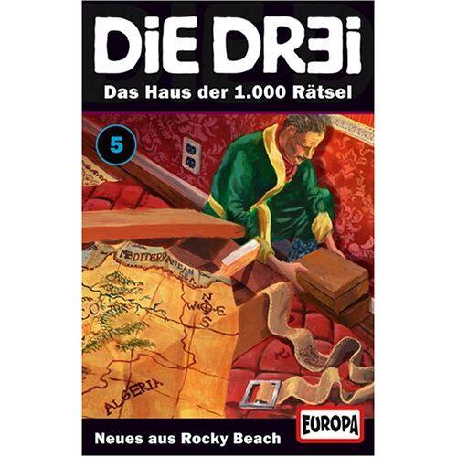 - Die Dr3i - Folge 05: Das Haus der 1.000 Rätsel [Musikkassette] [Musikkassette] - Preis vom 31.10.2020 05:52:16 h