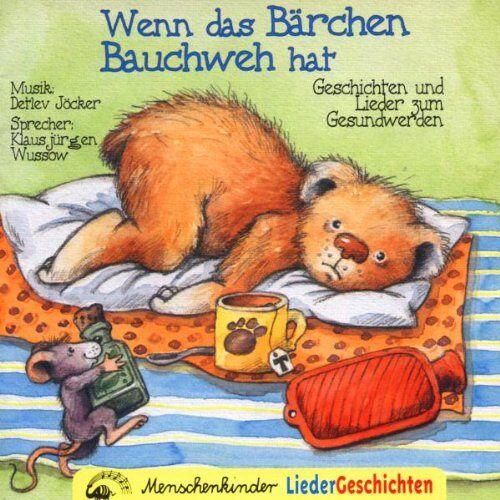 Detlev Jöcker - Wenn das Bärchen Bauchweh Hat - Preis vom 03.09.2020 04:54:11 h