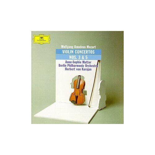 a.-S. Mutter - Violinkonzerte 3 G-Dur+5 a-Dur - Preis vom 25.01.2021 05:57:21 h