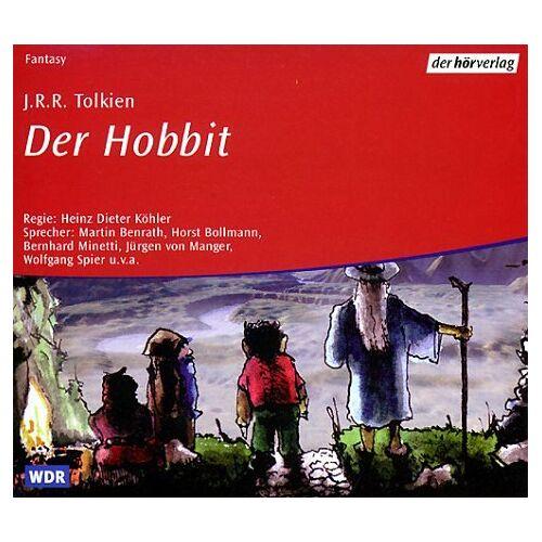 Tolkien, John R. R. - Der Hobbit. Audiobook. 4 CDs. - Preis vom 27.02.2021 06:04:24 h